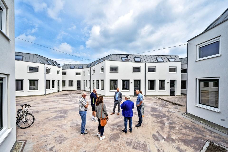 Open dag bij de nieuwe Parallelhof in Hillegom.