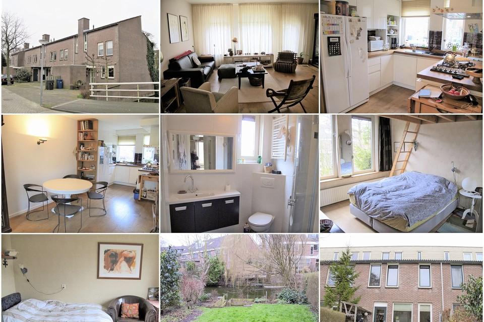 Foto's van de woning aan de Rijperwaard die zowel door 072wonen als in een nepadvertentie op Facebook werd aangeboden.