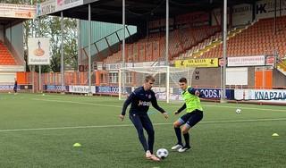 Griekse aanvaller Giannis Iatroudis traint mee met FC Volendam