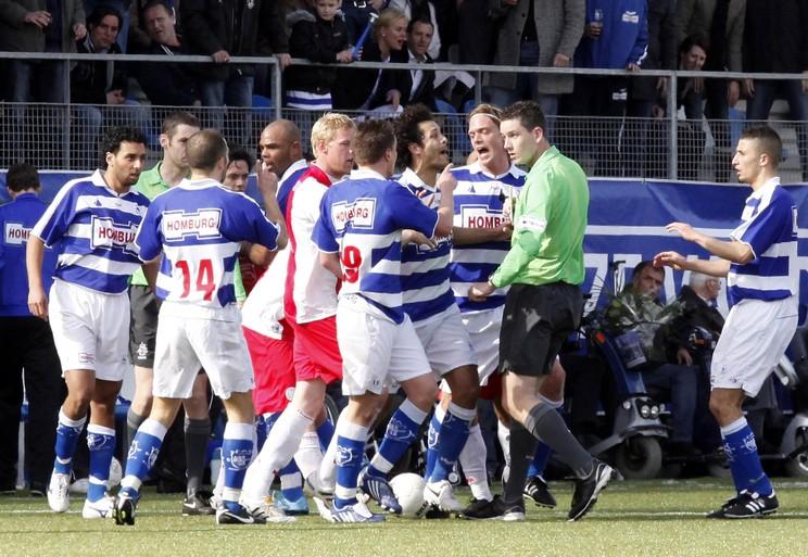 Hoofdrolspelers uit de recente historie van de 'moeder aller derby's' blikken terug: 'Dan ben je voor even de koning van Spakenburg'