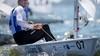 Zeiler Duko Bos stelt tijdens Medemblik Regatta teleur en ziet olympische deelname verdampen. 'Te veel op emoties gevaren'