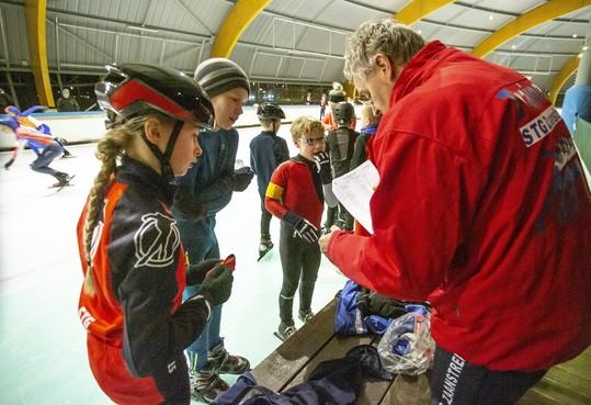 Sleutelwoord tijdens Zaans sprintkampioenschap op Haarlemse ijsbaan: plezier