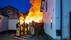 Bewoners lopen brandwonden in het gezicht op bij het redden van politiehonden uit brandende schuur in Baarn [video]