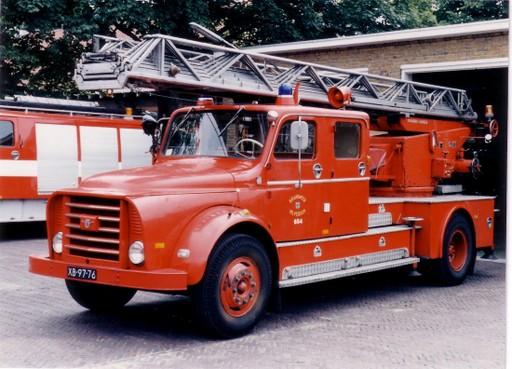 Hilversumse brandweer heeft weer een opknappertje: inzamelactie voor restauratie van DAF Autoladder uit 1962