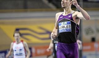 Djoao Lobles is niet echt een liefhebber van krachttraining: 'Ik ben ook niet zo sterk. Heb eigenlijk een paar kippen armpjes'