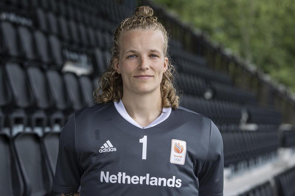 De Hilversumse Anne Veenendaal.