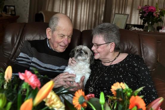 Wim de Bie werd verliefd op een foto van zijn Annie, nu zijn ze zestig jaar getrouwd