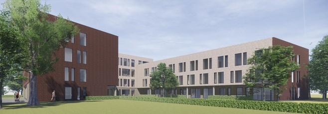 Na bijna dertig jaar plannen maken komt het er dan toch van: nieuwbouw op het terrein van het vroegere Lauwershof