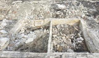 Archeologen vinden fundamenten van oliemolen De Ram in Wormerveer. 'Opmerkelijk dat alles er nog lag'