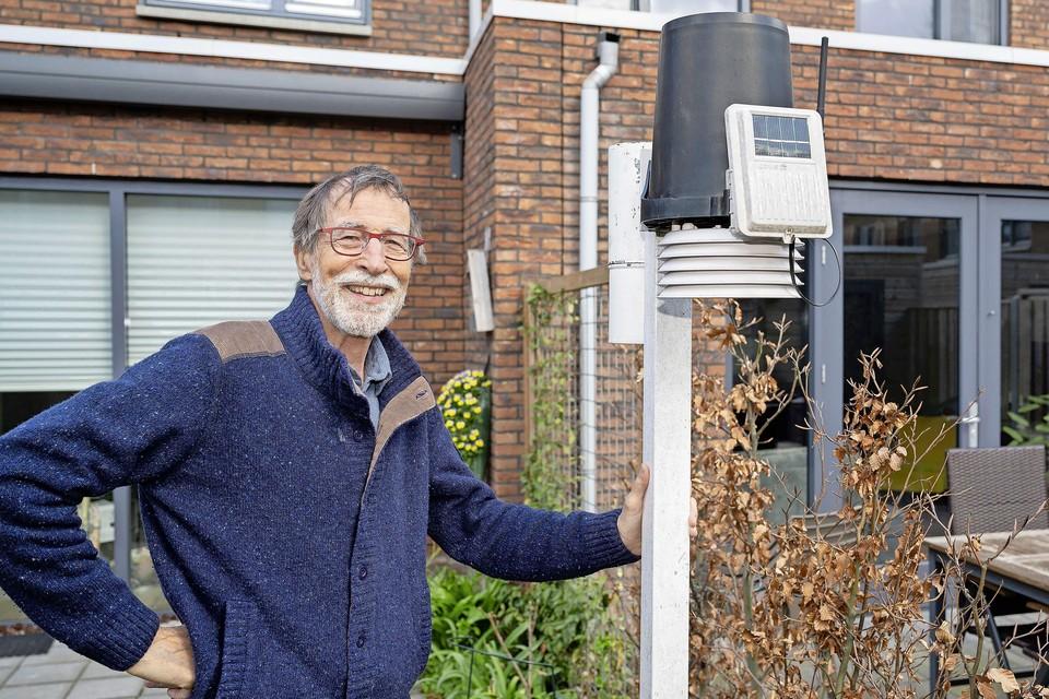 Fred Roovers, een van de genomineerden voor de eerste editie van de Zaanse Natuur- en Landschapsprijs van de Bredenhofstichting.