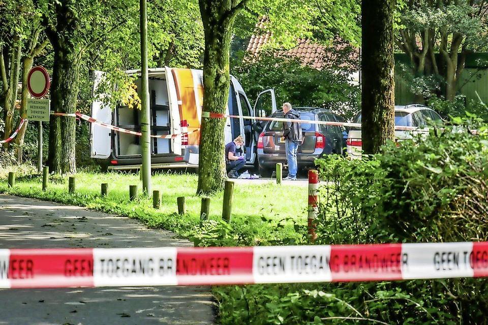 De politie is druk doende met onderzoek naar het incident rond de postbezorgster.
