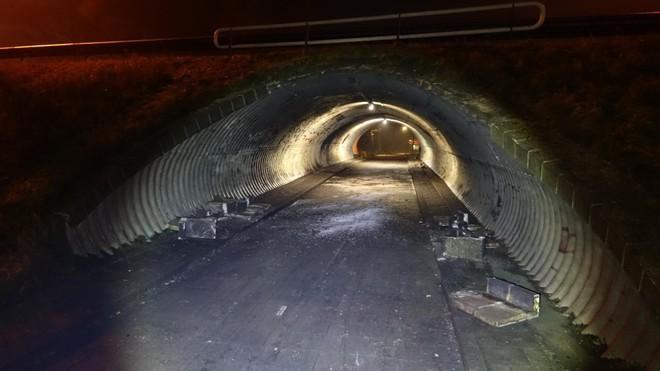 Fietstunnel Wognum Na Explosie Weer Open Daders Krijgen Fl Noordhollandsdagblad
