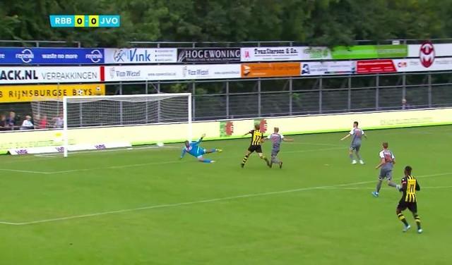 Bekijk hier de doelpunten van de wedstrijd Rijnsburgse Boys - Jong FC Volendam [video]