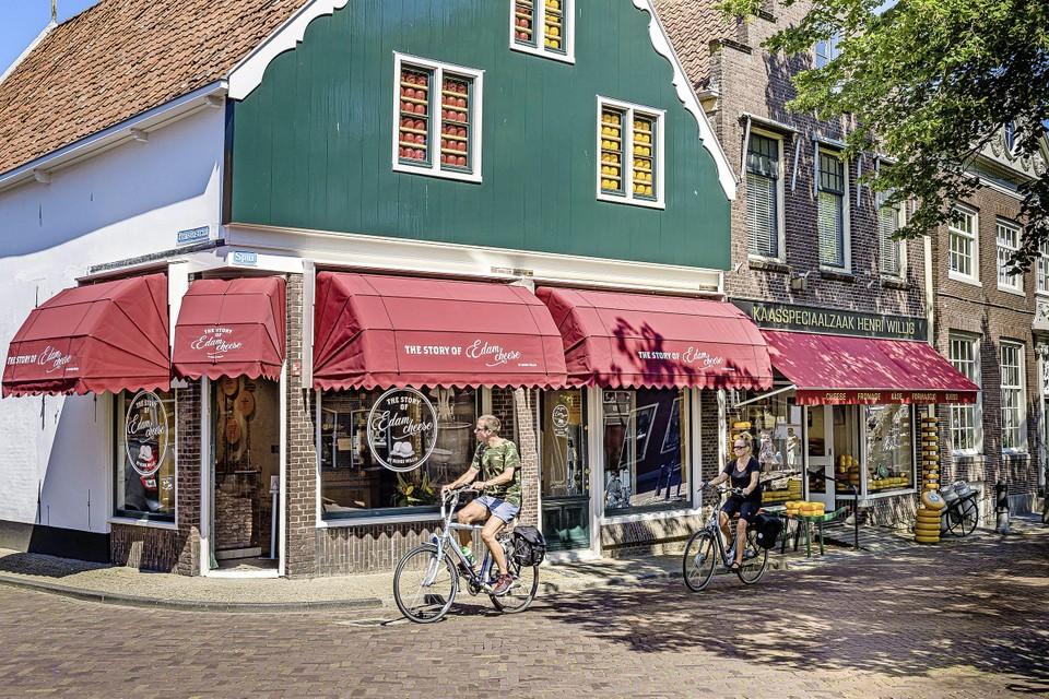 Kaasmuseum Henri Willig met kaaswinkel in Edam.
