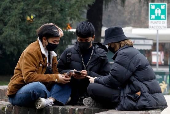 Vier kinderen onder nieuwe coronabesmettingen Italië