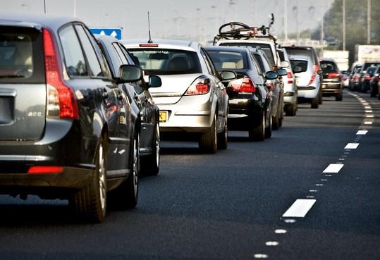 Wijkertunnel richting Alkmaar dicht: ruim één uur vertraging