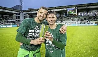 Hoewel pas 21 jaar oud is Lars Kramer in Denemarken een volwassen verdediger geworden. Voetballer uit Wormer wil zich weer in de kijker spelen bij Jong Oranje