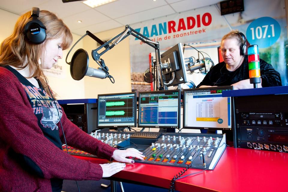De studio van RTV Zaanstreek.