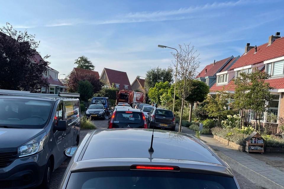Doorgaand verkeer in Castricum wordt nu omgeleid door de Verzetsheldenbuurt.