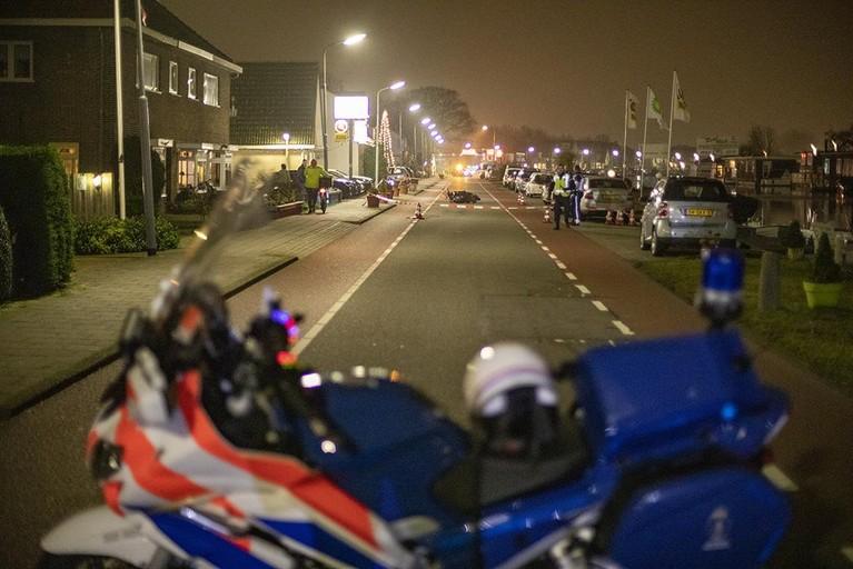 Jongetje gewond bij botsing met scooter in Badhoevedorp