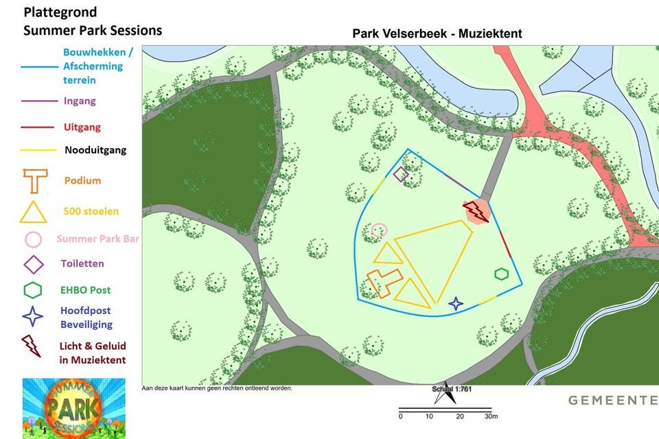Park Velserbeek tijdens het Summer Park Sessions festival.