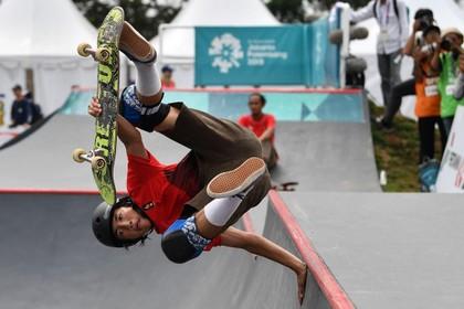 IJmuidense skateboarder Jason Lijnzaat wil naar Olympische Spelen van Tokio [video]