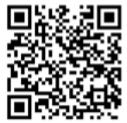 QR-code met informatie over het Oogcafé in Hoofddorp.