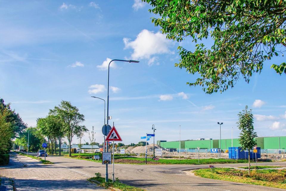 Het gehele kantoorcomplex van Bejo op de hoek van de Veilingweg en Trambaan is verdwenen. Op dezelfde plek komt nieuwbouw terug.