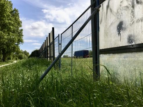 Oeps, ineens is het geld voor een nieuwe geluidswal bij Muggenburg in Schagen verdwenen