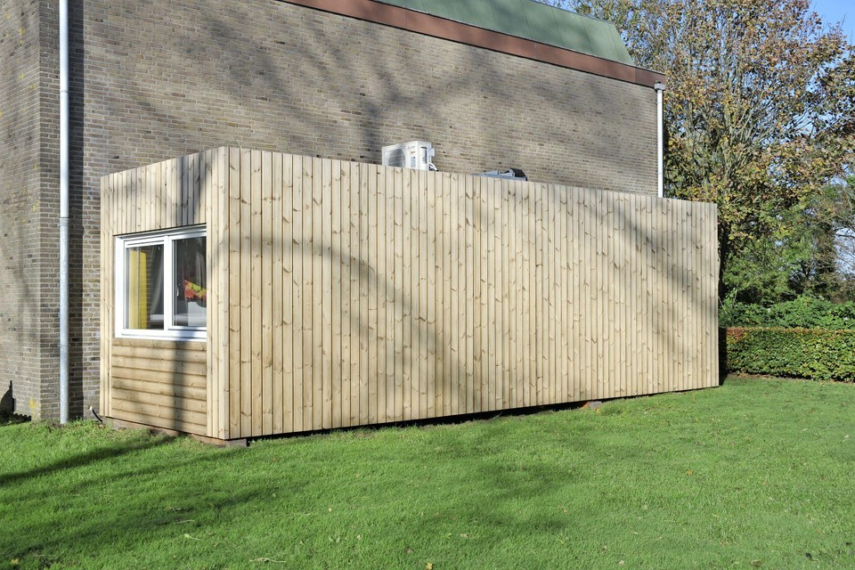 Voorbeeld-flexwoning van FlexwonenNH in Limmen.