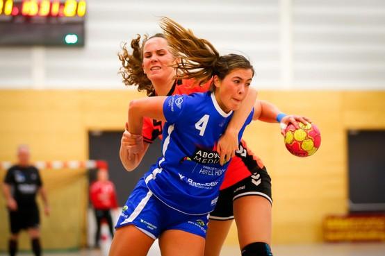 Handbalster Sharon Klein na twijfels over Westfriesland SEW nu vol vertrouwen