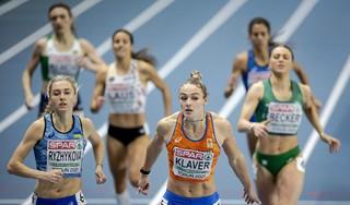 Atletes Lieke Klaver en Lisanne de Witte naar halve eindstrijd 400 meter bij EK indoor