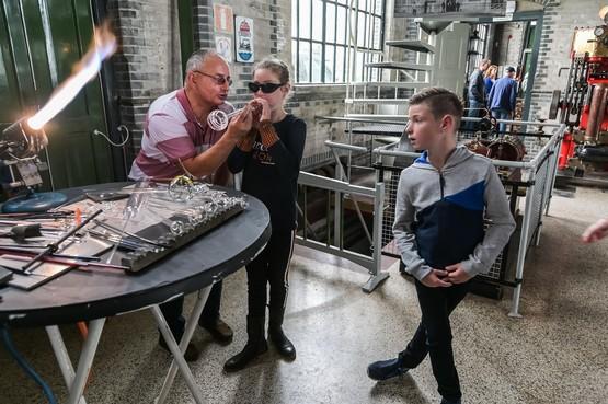 Kinderen ontdekken in Stoommachine Medemblik eigen talent