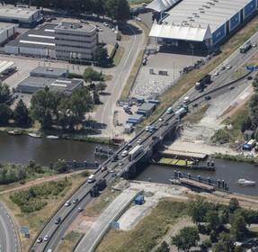 Leeghwaterbrug in Alkmaar pas in september 2019 klaar