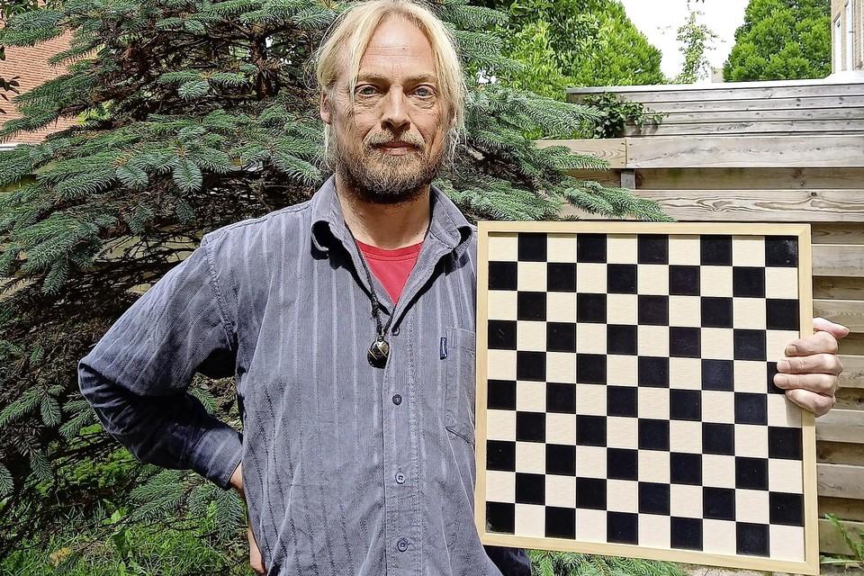 Marco Wiering wisselde op latere leeftijd het dambord in en vond zijn ontspanning in de natuur