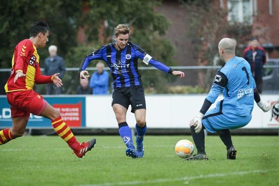 Aanvoerder Jort Kaandorp met Vitesse'22 verrassende koploper van de tweede klasse: 'Spelen nu zonder druk en met veel plezier'