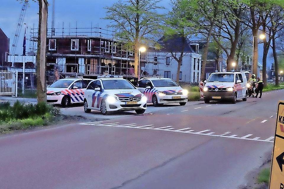 De politie rukte na tip uit naar Middenbeemster