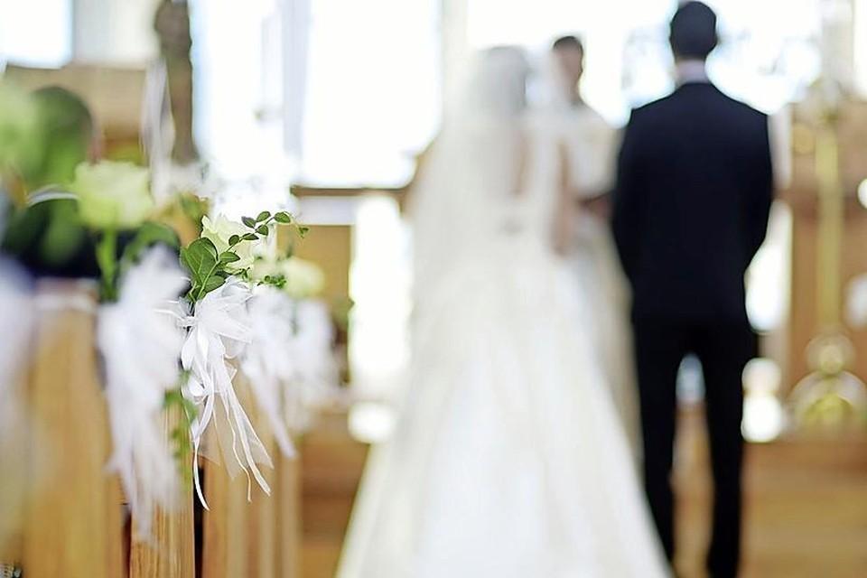 Afgelopen jaar werd er minder getrouwd.