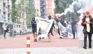 'Defenders' uit heel Nederland komen in Den Helder bijeen om actie te voeren [video]