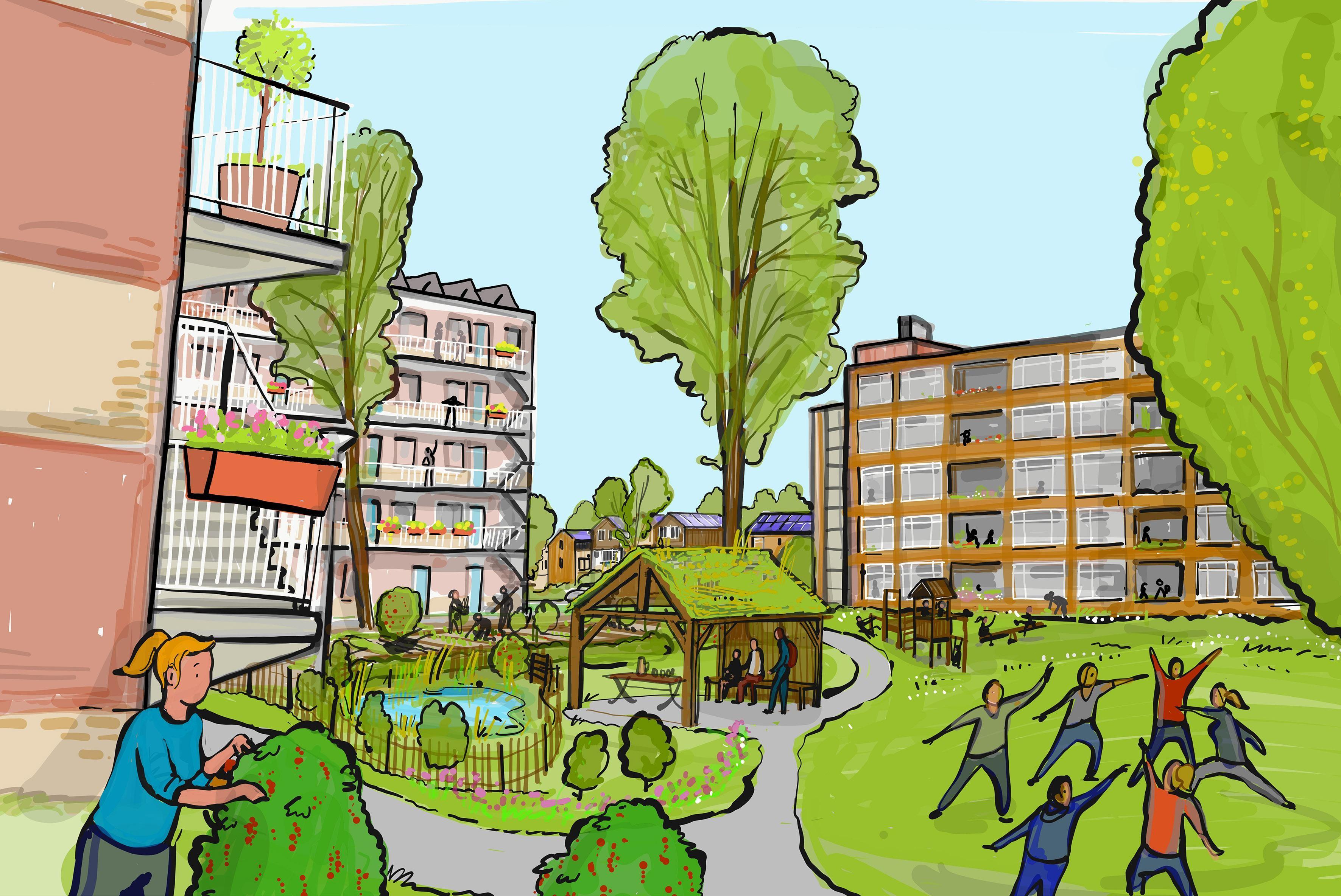 Kogerveld 2040: Meer Huizen, Groen En Ruimte Voor