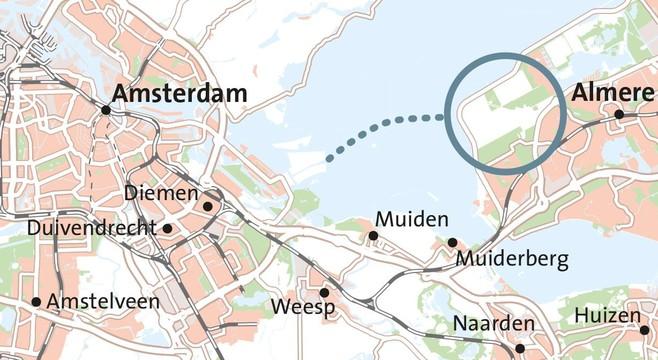 CDA en D66: bouw 25.000 huizen en IJmeerverbinding met Amsterdam kan binnen vijf jaar