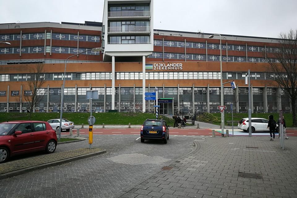Het Dijklander ziekenhuis.