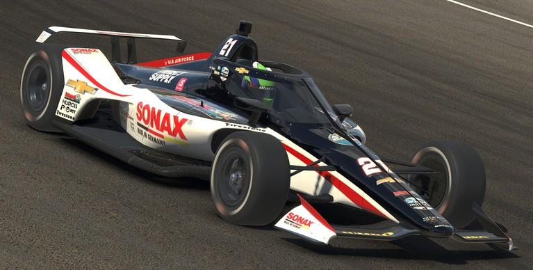 Coureur Rinus van Kalmthout uit Hoofddorp druk bezig met terugkeer naar de Verenigde Staten voor lang verwacht debuut in de IndyCar