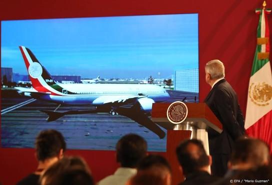 Vliegtuig president Mexico na jaar nog niet verkocht