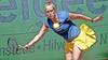 Driehonderd tennissers zorgen voor drukte op de banen tijdens 'Ruïne van Brederode'