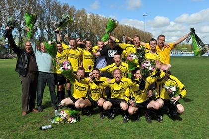 Herstart 'Zaterdag 1' bij Blokkers, ook zaalvoetbal onder de vlag van geel-zwarte club