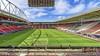 AZ verwacht zaterdag ruim achtduizend supporters onder het nieuwe stadiondak