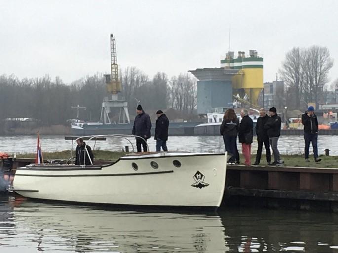 Bakdekker 'herboren' bij Watertaxi Hoorn: motorjacht kan ook langere tochten maken