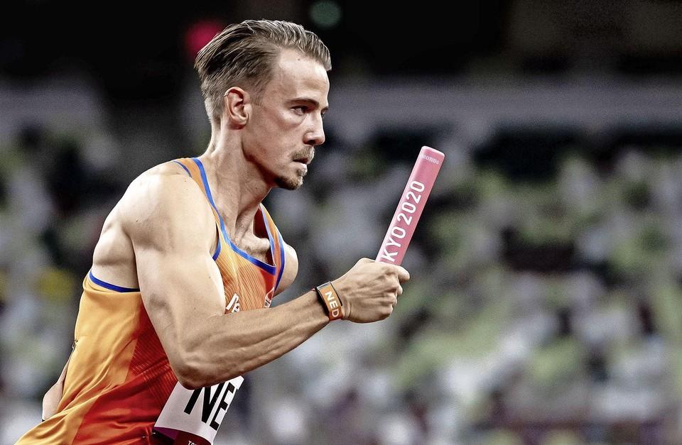 Jochem Dobber kwam tijdens de finale niet in actie, maar heeft wel een zilveren medaille.