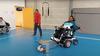 Met de voetbalschieter kunnen kinderen met en zonder beperking met elkaar voetballen, uitproberen kan in Den Helder [video]